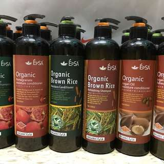Epsa Organic Hair Shampoo / Conditioner