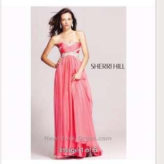 Designer Sherri hill dress size 0