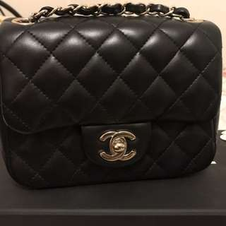Authentic Chanel Square Mini