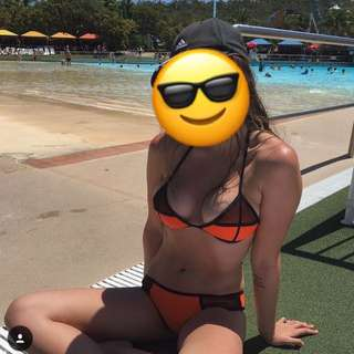 Triangl Orange Bikini
