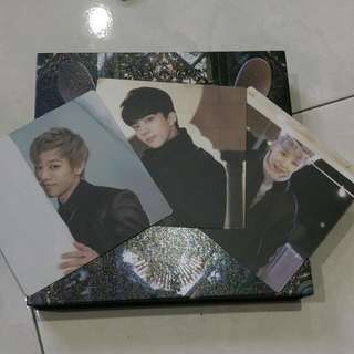 [Defect] B.A.P First Sensibility Album With Chosen Photocard