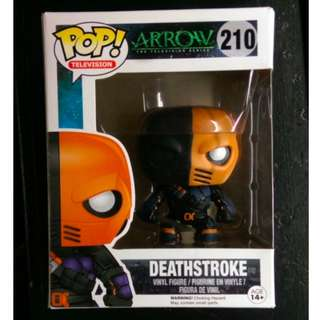 Pop Deathstroke Arrow figure