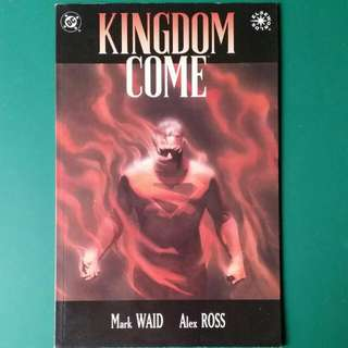 DC Kingdom Come #4 Comic 1996