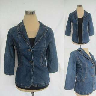 3/4 Denim Coat