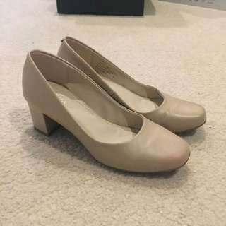 Airflex nude work heels