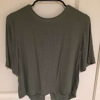 Glassons Split Back Top
