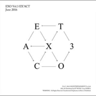 EXO EXACT ALBUM