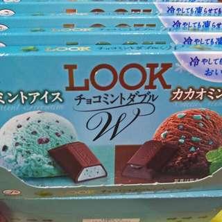 🎊不二家Look 夏季新產品-薄荷巧克力口味