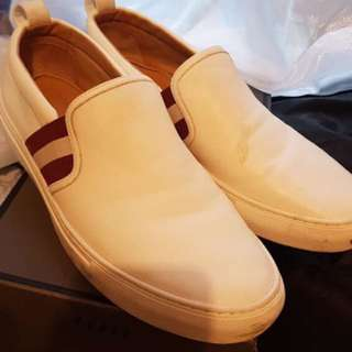 bally slip on shoes ( authentic)