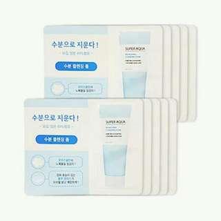 Missha Super Aqua Refreshing Cleansing Foam Sample