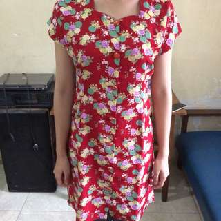 Dress Kancing Depan