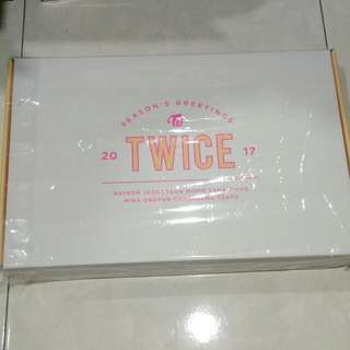 Twice 2017 Season's Greetings Without Calendar