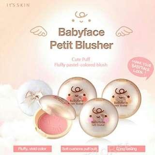 It's Skin Babyface Petit Blusher (#3 - Romantic Rose)