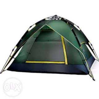 4-Person Automatic Folding Camping Tent