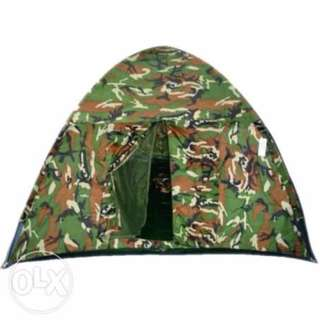 4 Person Waterproof Folding Outdoor Camping Tent (Camouflage