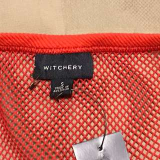 Witchery Net/Fishnet Loose Outer Top