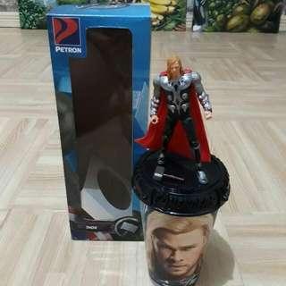 Petron Thor Tumbler With Figurine