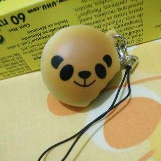Squish Toy Panda Toast