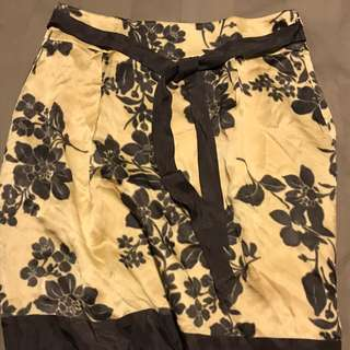 Jigsaw Satin Skirt Size 12