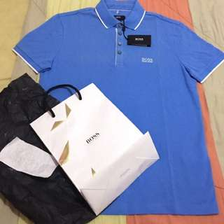 Authentic Hugo Boss Polo Shirt Size Small