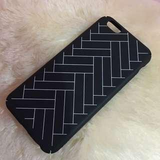 RE-PRICE Case Monochrome Black White Iphone 6