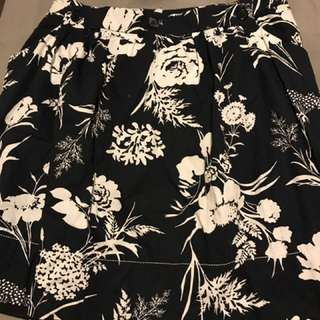 Unique Black Skirt