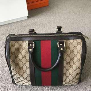 Gucci Boston Bag Authentic
