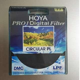 Hoya Pro1D CPL filter 77mm