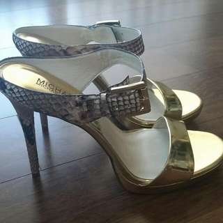 Michael Kors Croc Leather Shoes