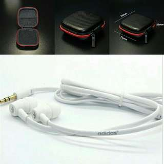 Adidas Inspired Earpiece With Case