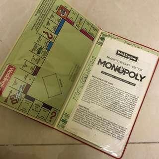 Monopoly 大富翁 旅行版 復古