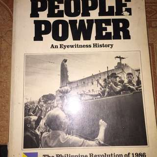 1986 Peoples Power..History Book
