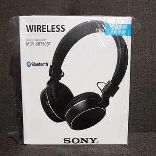 BNIB Sony MDR-XB750BT Bluetooth Foldable Headphone (Last Set)