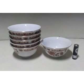 大同小陶瓷碗(6入)
