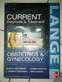 Lange current diagnosis and treatment 10th Ed