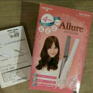 🚚 近新 電捲棒,離子夾,直髮棒  日本Izumi RHS-A40-W 4 way 38cm, 32cm, 24cm (定價$2690)