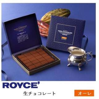 Royce生巧克力