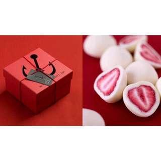 法蘭茲 Frantz松露草莓巧克力/草莓白巧克力