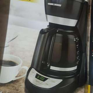 Black And Decker Coffee Machine Used Once