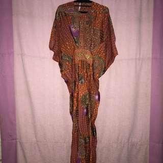 orange kaftan by lanthe // baju muslim