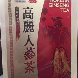 韓國高麗人蔘茶