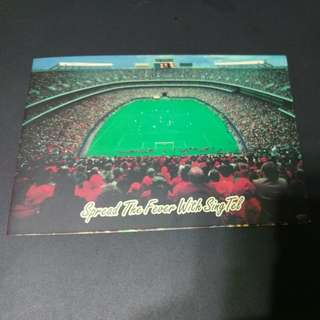 Singtel World Cup Fever Commemorative Phonecard 1998