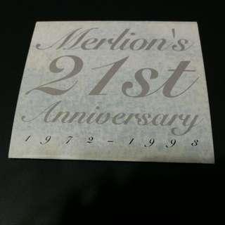 Merlion's 21st Anniversary [1972~1993] Commemorative Phonecard
