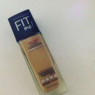 Maybelline Fit Me Foundation Dewy+smooth