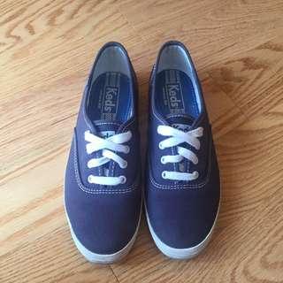 Keds Navy Blue (size 6)
