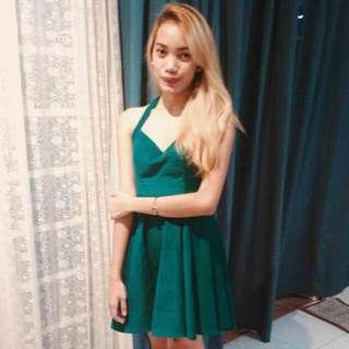 Undernourished MNL- Green Dress