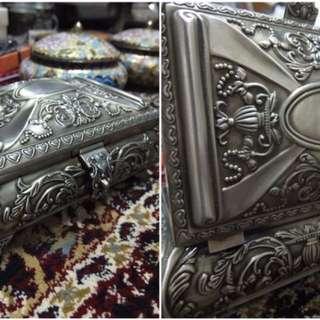 十九世紀歐式銀盒