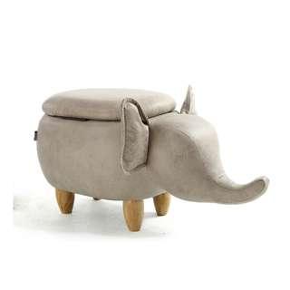🚚 【預購款】Elephant 大象椅凳 翹鼻子 換鞋凳 童凳 收納 儲物 參考 IKEA 有情門 民宿 設計師款 裝修