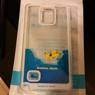 NEW Samsung NOTE 4 - Swimming Duck Casing