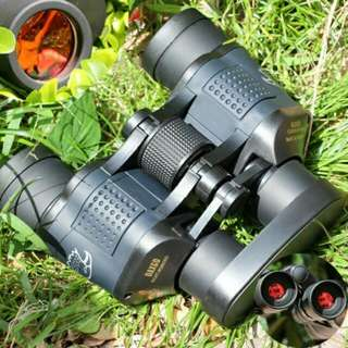 (Po) 60x60 3000M Waterproof High Power Definition Night Vision Hunting Binoculars Telescopes Monocular Telescopio Binoculos